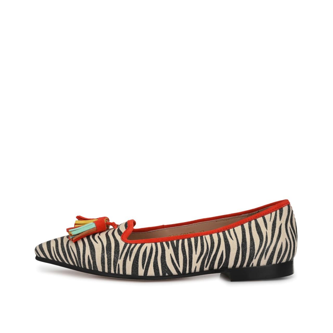 MARLA Rot mit Zebra