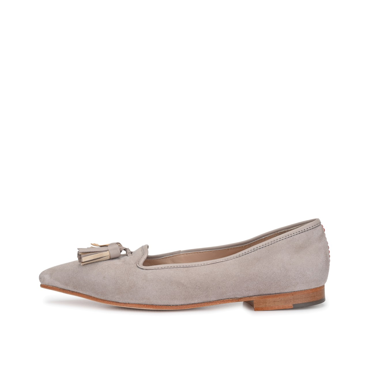 MARLA Suede Taupe